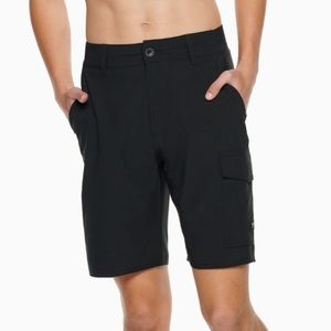 VANS | Vanphibian Cargo Black Shorts Sz 32